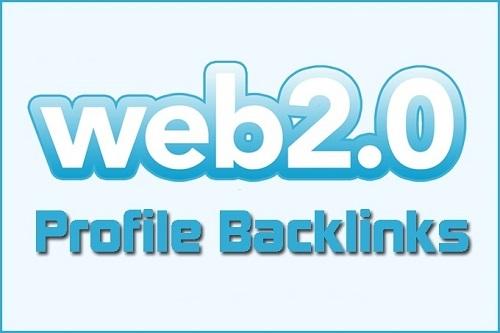 web 2.0 profile backlinks